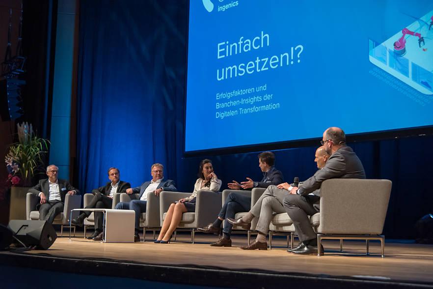 Ulmer Gespräche der Ingenics AG mit Branchen-Insights führender Unternehmen zeigen ganz klar: Umsetzung ist gefragt.
