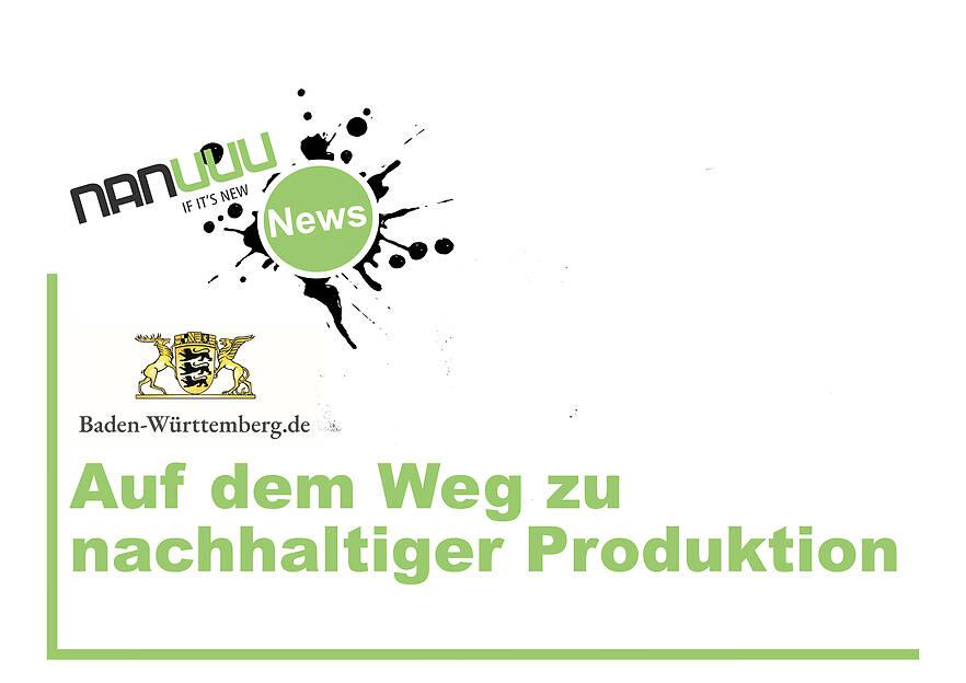 Auf dem Weg zu nachhaltiger Produktion
