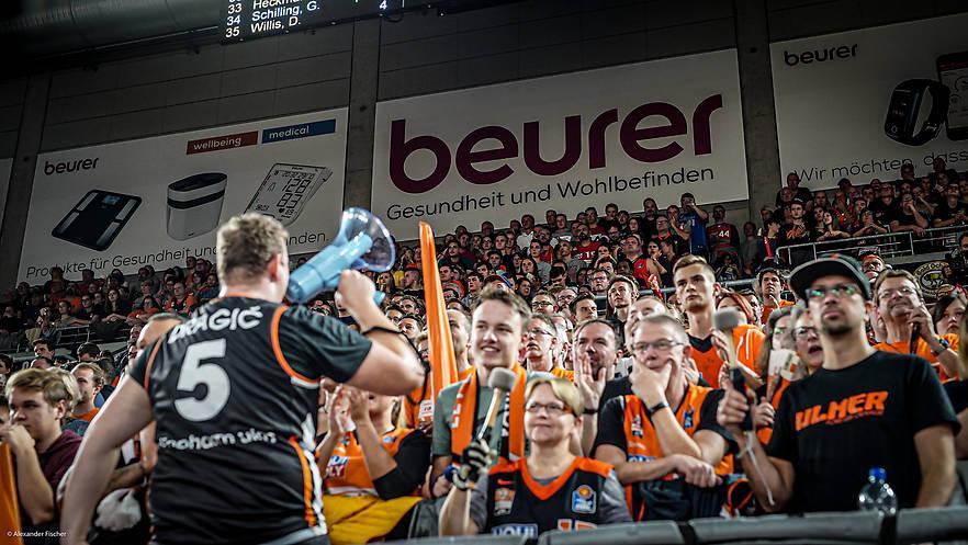 Beurer wird Sponsoring-Partner der Ulmer Basketballer