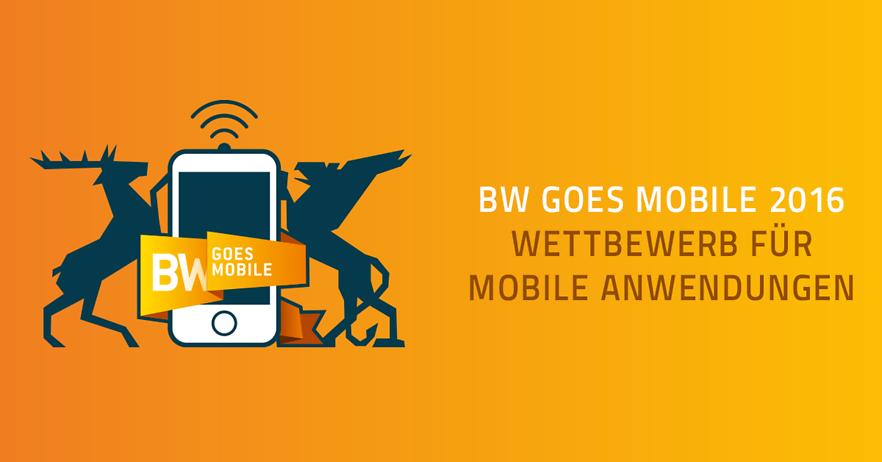 """Beim Ideenwettbewerb """"BW Goes Mobile 2016"""" geht es um die besten mobilen Anwendungen."""