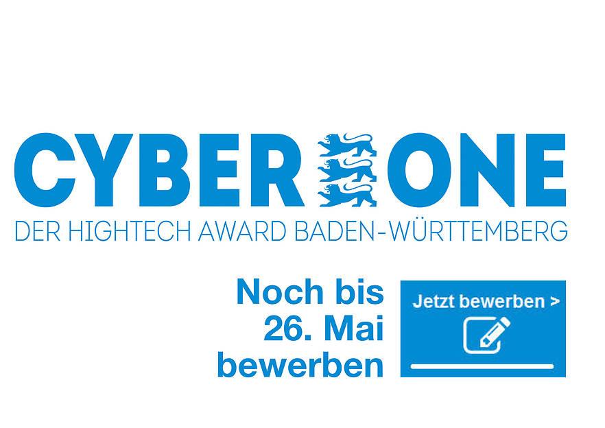 CyberOne Hightech Award Baden-Württemberg 2019