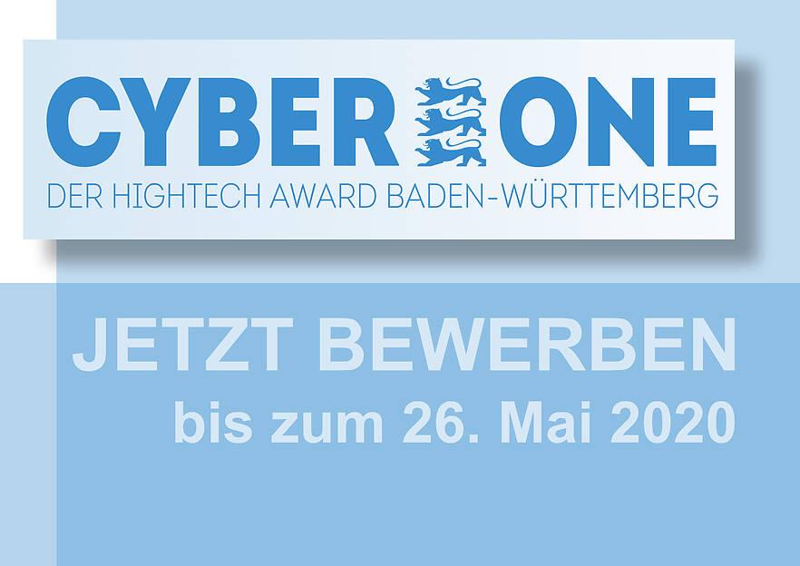 CyberOne Hightech Award Baden-Württemberg 2020