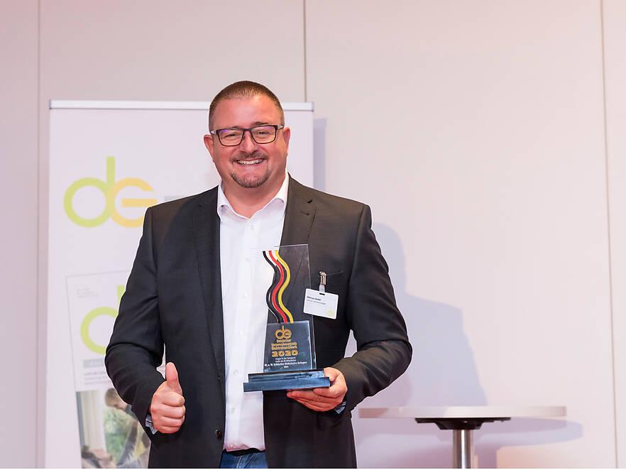 M. u. W. Schlecker gewinnt den Deutschen Unternehmerpreis Elektrohandwerk 2020