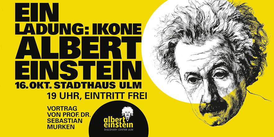 Einladung: Ikone Albert Einstein