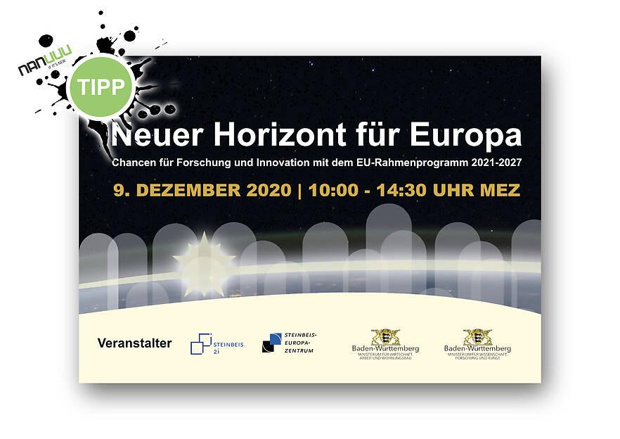Einladung: Neuer Horizont für Europa