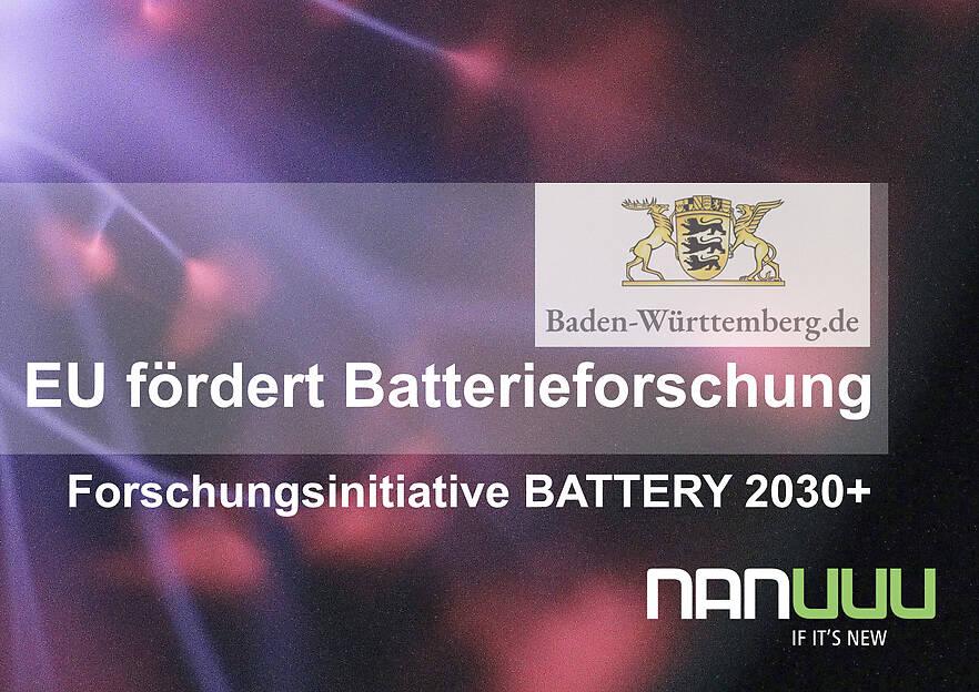 EU fördert Batterieforschung im Land