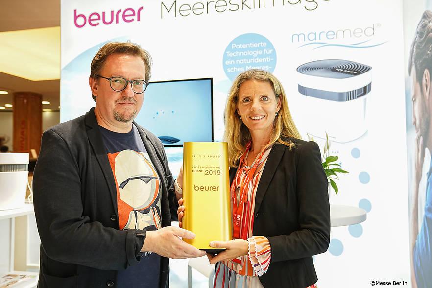 """Beurer wurde als """"Innovativste Marke"""" geehrt"""