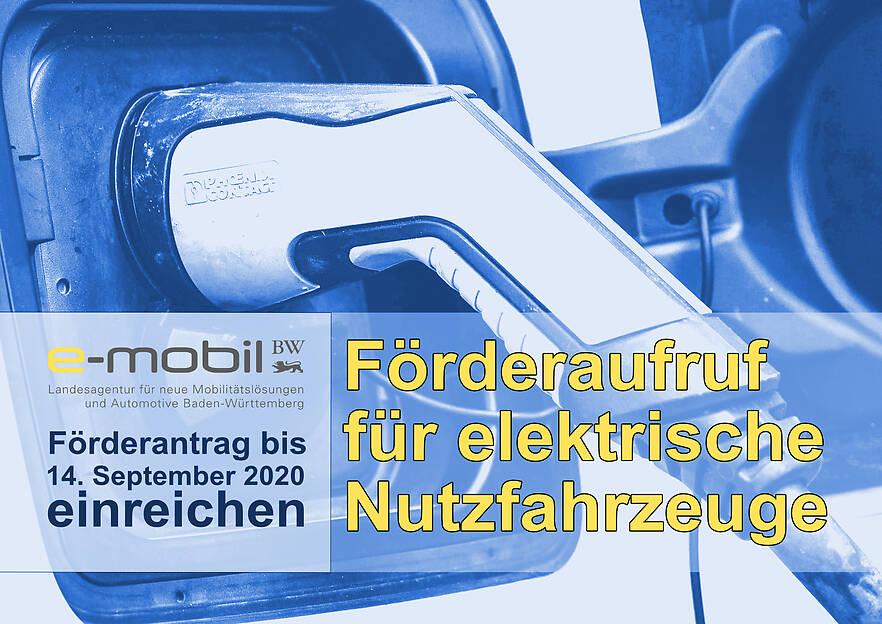 Förderaufruf für elektrische Nutzfahrzeuge