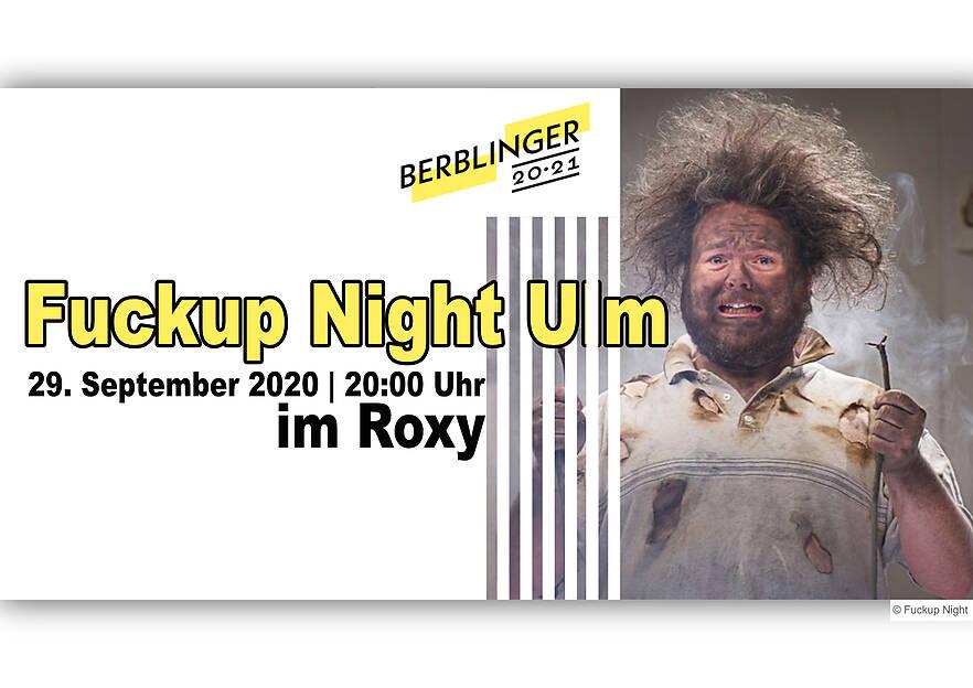 Fuckup Night Ulm im ROXY