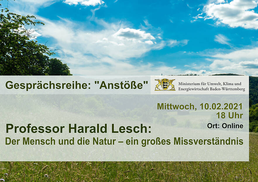 Gesprächsreihe des Ministeriums für Umwelt, Klima und Energiewirtschaft Baden-Württemberg