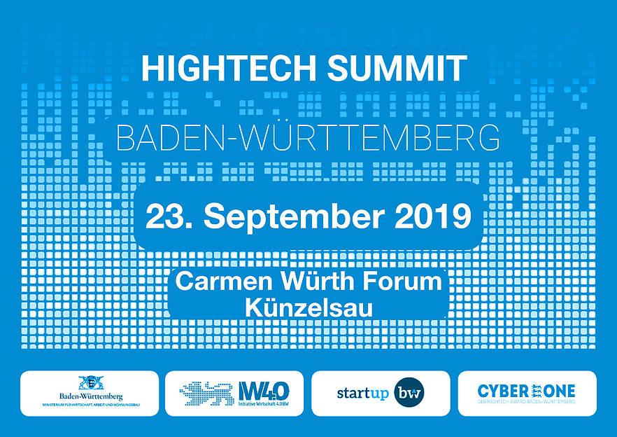 23.09.2019: Hightech Summit 2019 – Technologiekongress und Preisverleihung