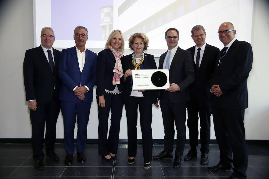 HNU-Campus: Neubau der Hochschule Neu-Ulm feierlich eröffnet