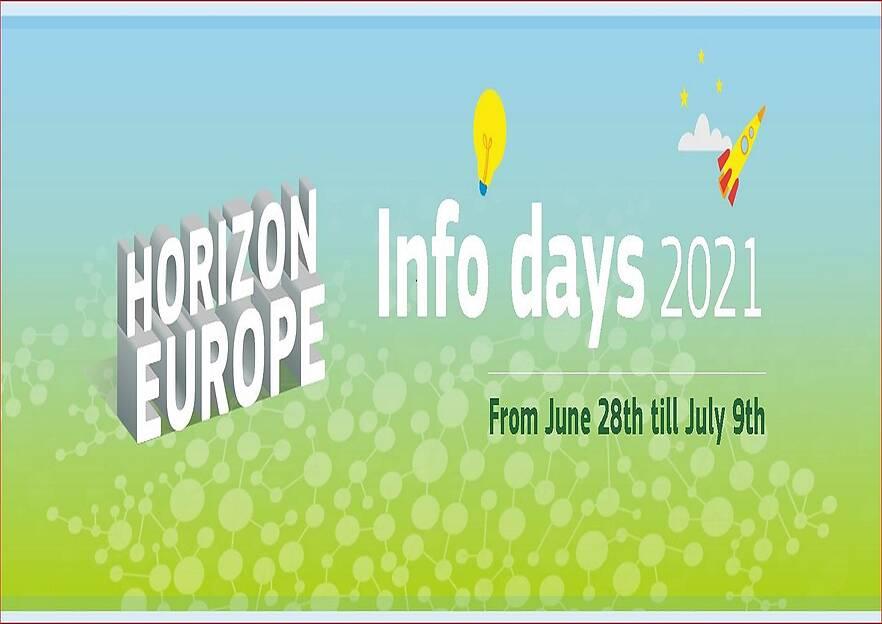 10-tägiger Online Event zu den Ausschreibungen Horizon Europe Infoday