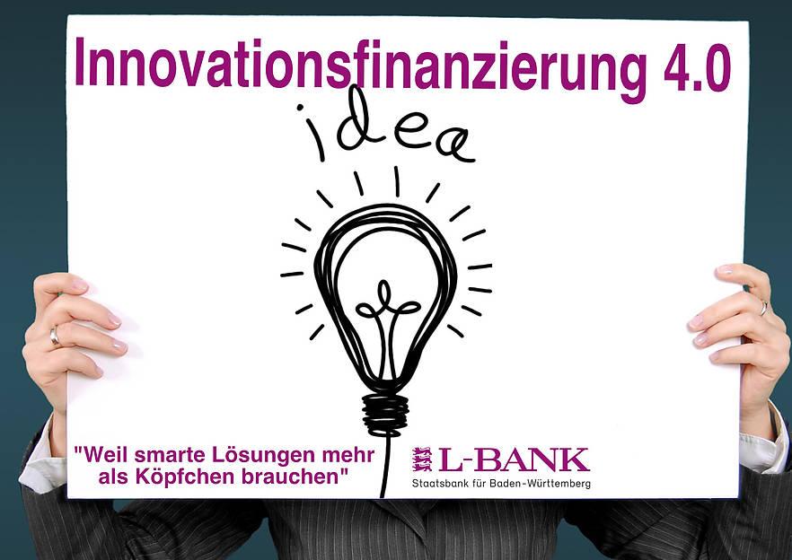 Wiederaufnahme der Innovationsfinanzierung 4.0 zum 01.03.2019