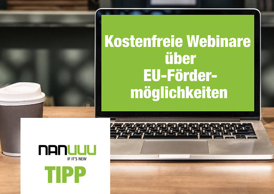 Kostenfreie Webinare über EU-Fördermöglichkeiten