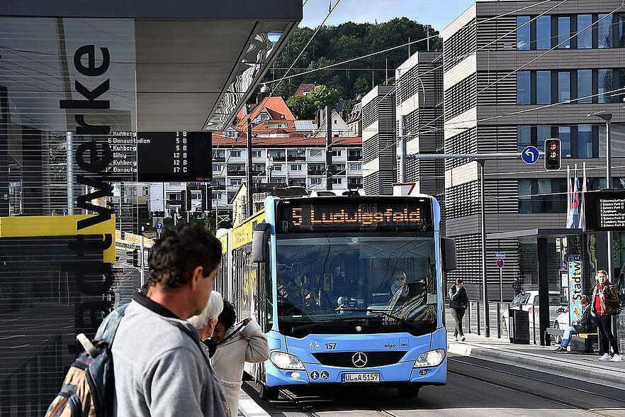 Fahrgastbefragung zur kostenlosen ÖPNV-Nutzung in Ulm / Neu-Ulm an Samstagen