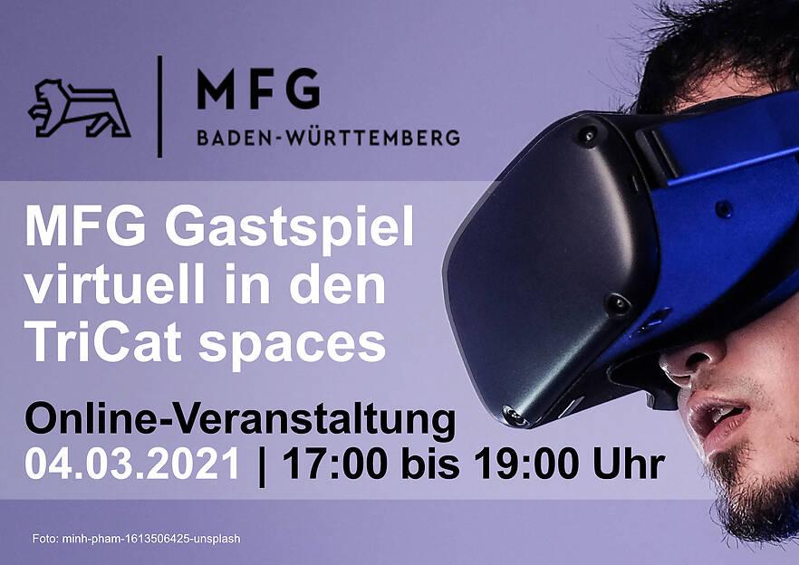 MFG Gastspiel virtuell in den TriCAT spaces
