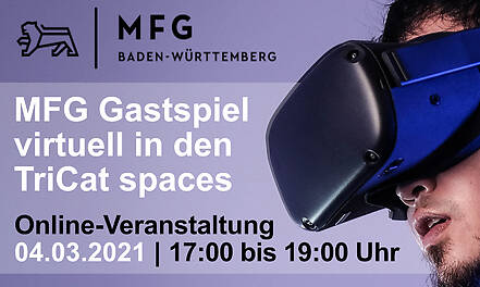 MFG Gastspiel virtuell in den TriCAT spaces