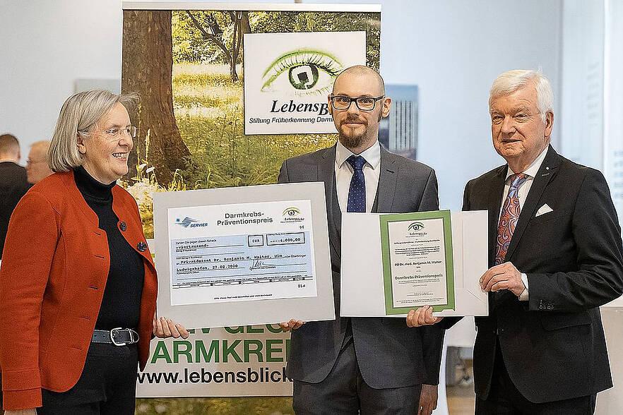 Darmkrebs-Präventionspreis für PD Dr. Benjamin Walter