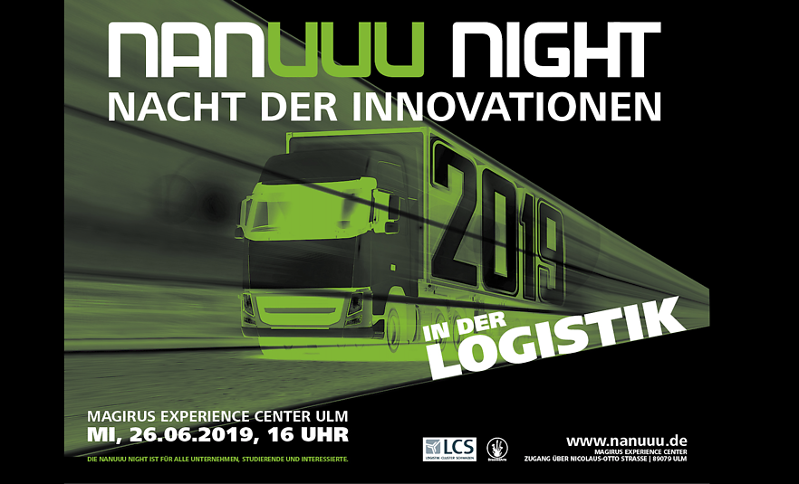 nanuuu-night – Nacht der Innovationen in der Logistik