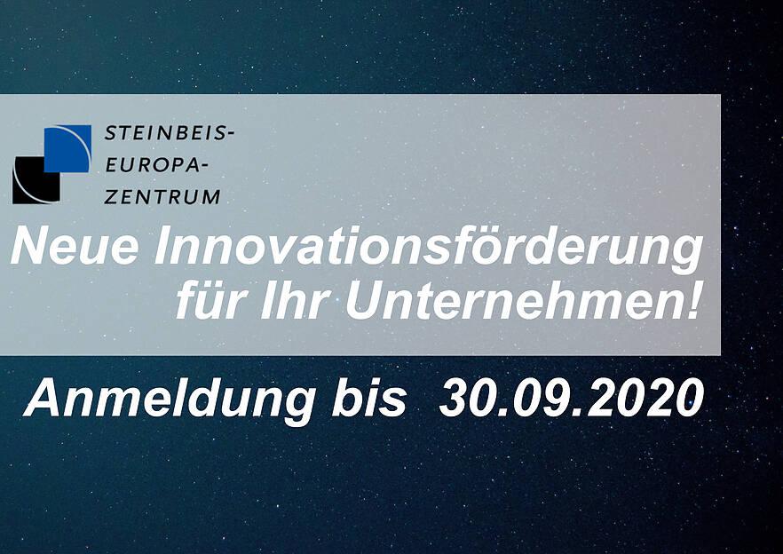 Neue Innovationsförderung für Ihr Unternehmen!