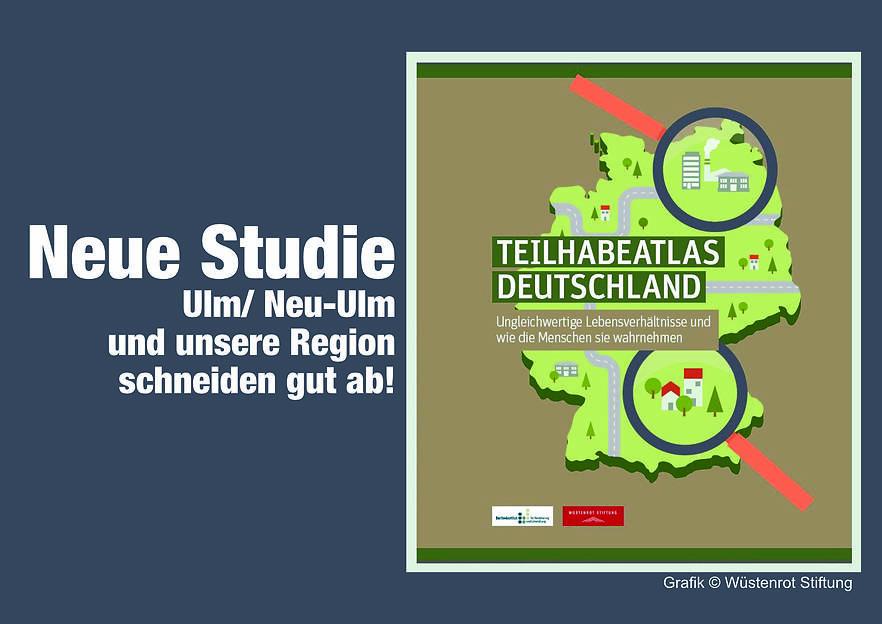 """Neue Studie """"Teilhabeatlas Deutschland"""" – Unsere Region schneidet gut ab!"""