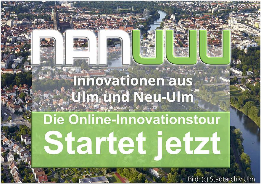 Startschuß für die Online-Innovationstour unserer Wirtschaftsregion Ulm/Neu-Ulm