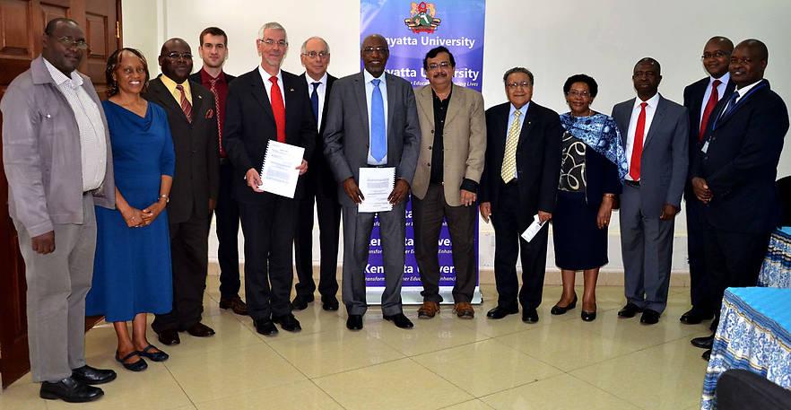 Die Hochschule Neu-Ulm (HNU) startet gemeinsam mit der Kenyatta University nahe Nairobi ein Entrepreneur-Projekt.