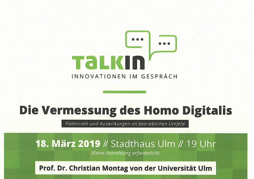 Talkin – Innovationen im Gespräch