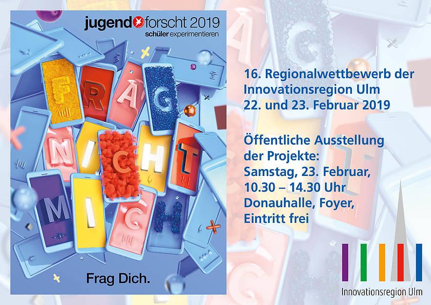 """Regionalwettbewerb """"Jugend forscht / Schüler experimentieren"""""""