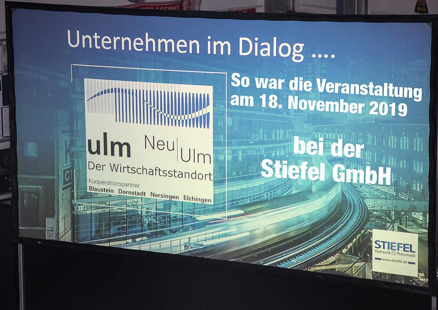 """Wie war """"Unternehmen im Dialog""""? –  Die STIEFEL GmbH"""